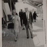 Granny's parents, Ditty and Bo on the Queen Mary in 1967