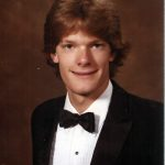 Dad's senior pic. 1985