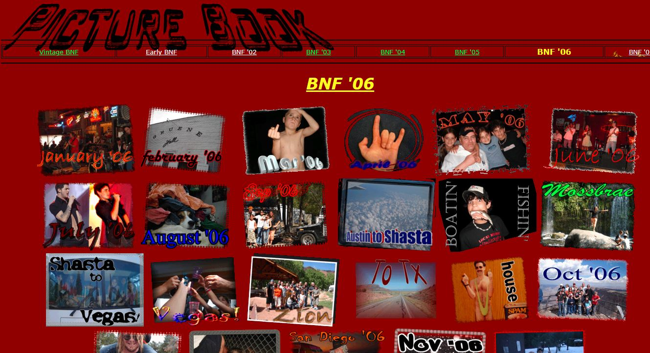 screenshot and link for early bnf pages in 2006