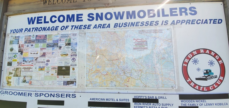 Miles of snowmobile trails