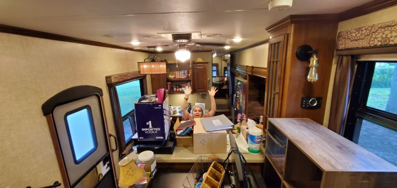 Moving back into the RV